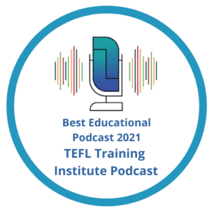 TEFL Training Institute Podcast badge