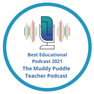 The Muddy Puddle Teacher Podcast badge