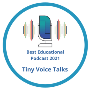 Tiny Voice Talks badge